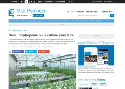 Les Sourciers - presse France 3